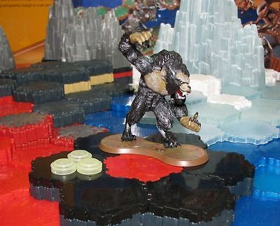 Werewolf Lord + markers Wave 12 D2 Warriors of Eberron Heroscape D&D RPG minis