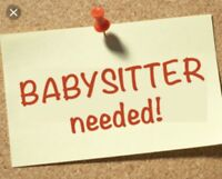 babysitter needed for 2 children