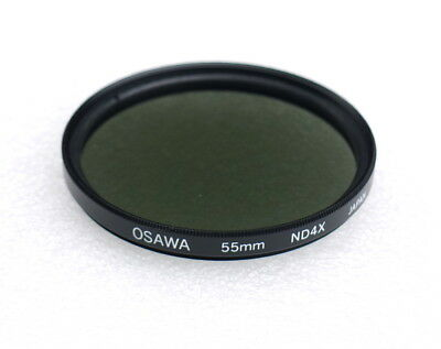 55mm OSAWA (Mamiya) ND4X 4x Neutral Density ND-4 Filter - NEW