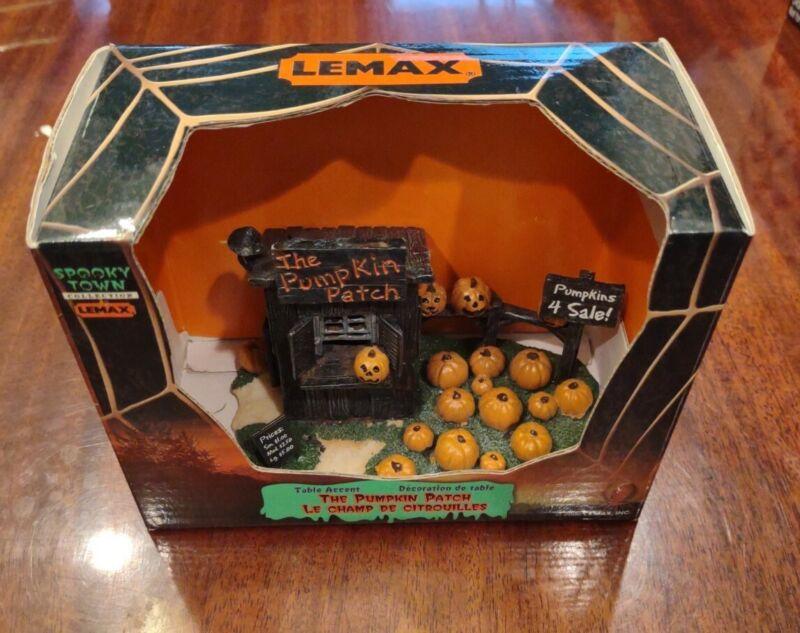 Lemax Spooky Town Halloween pumpkin patch building 04521