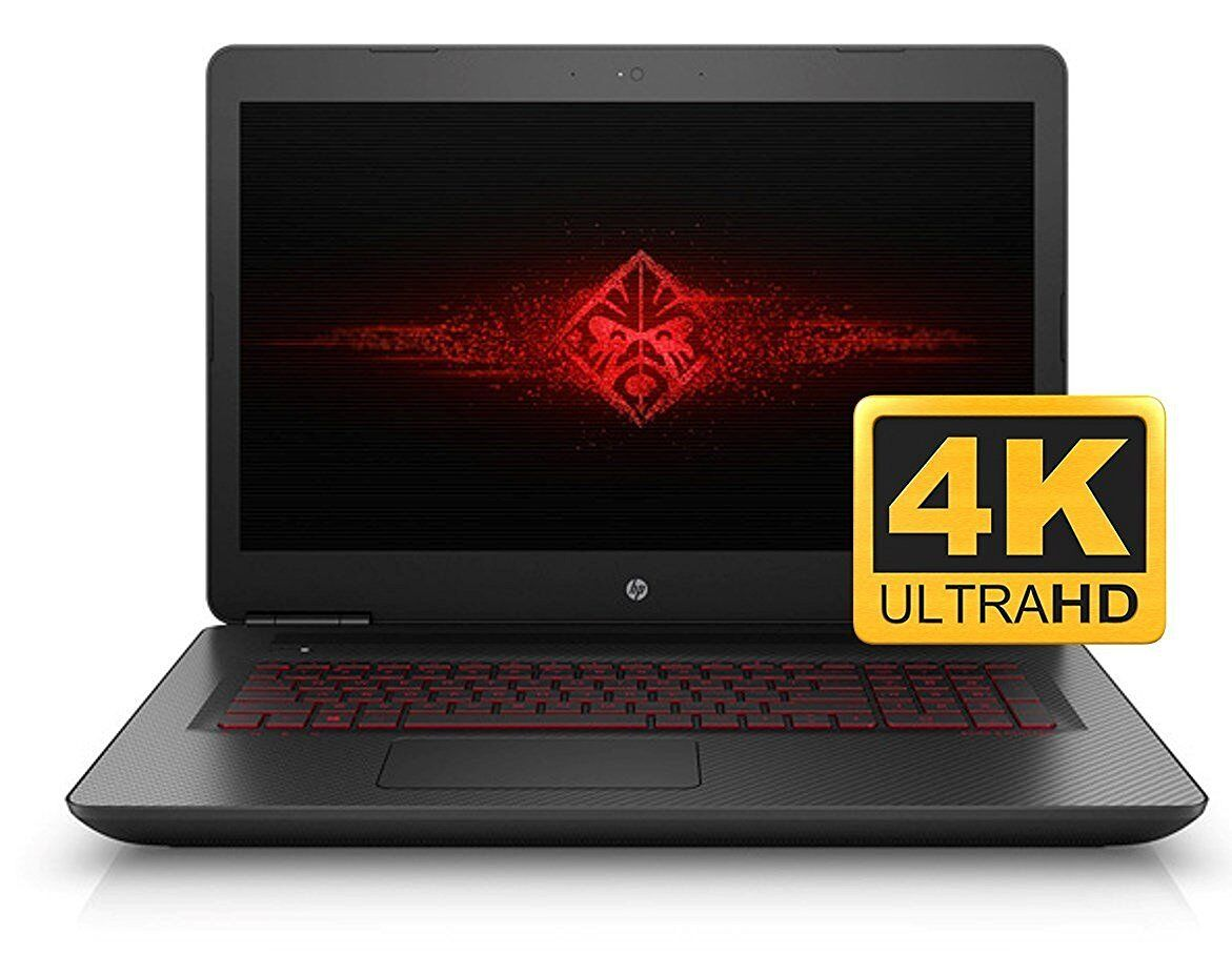 "HP Omen 17t Laptop 17 17.3"" UHD 4K i7-6700HQ Quad 16GB 128GB + 2TB 6GB GTX 1060M"