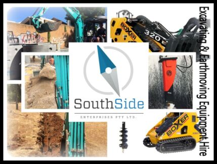 Southside Enterprises   Save $$$ Excavator and Mini Skidsteer HIRE. Jandakot Cockburn Area Preview