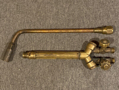 Cutskill By Victor Wh270fc-v Torch Handle W4-mfa-1 Heating Nozzle Rosebud Tip