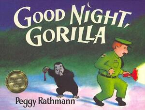Rathmann  Peggy-Good Night  Gorilla  BOOK NEU