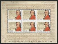 Vaticano - 250° Nascita Mozart 2006 Foglietto -  - ebay.it