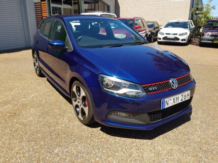 2013 Volkswagen Polo GTi 1.8L 4 Cylinder Turbo/Supercharged AUTO Lambton Newcastle Area Preview