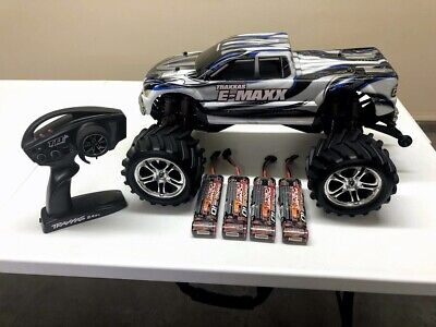 Traxxas E-Maxx Radio Controlled Truck - Parts and Batteries