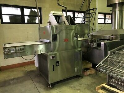 Casa Herrera 32 Flour Tortilla Press Oven Cooling Conveyor