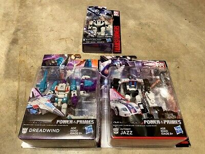 Transformers Power of the Primes Lot - Jazz, Dreadwind, & Battleslash - NEW