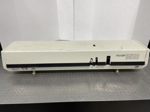 Spectra Physics 3500 Tunable Ultrashort Pulse Dye Laser Picosecond Femtosecond 2