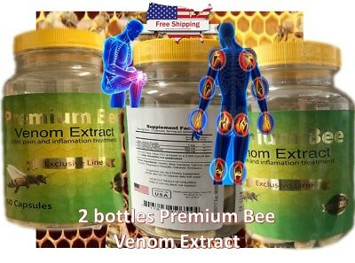 2NATURAL BEE Venom Extract anti-inflamatory Extracts Arthritis Pain Abee therapy