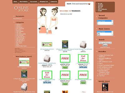 Established Ecommerce Shop Business Store Shopping Cart Website For Sale