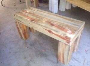 Rustic Bench Carrara Gold Coast City Preview