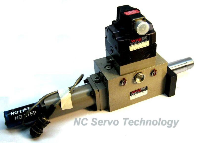 Moog 85-307 Cylinder Assembly W/760-102a Servo Valve
