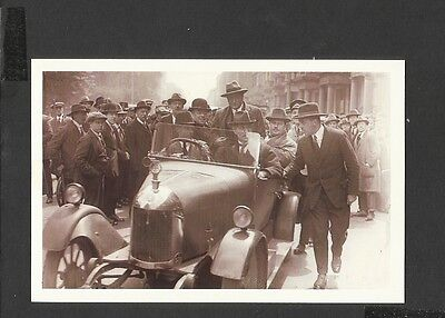 Nostalgia Postcard  General Strike Ramsay Macdonald on way to Number 10 -1926