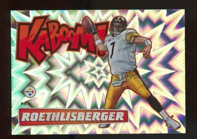 2019 Panini Absolute Kaboom! #K-BR Ben Roethlisberger SP Case Hit