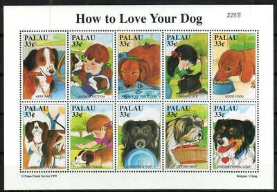 Palau Stamp 530  - How to Love your dog