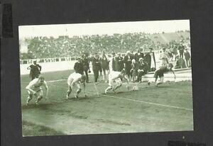 Nostalgia Postcard Olympic Games start 100m Brand New White City Stadium 1908
