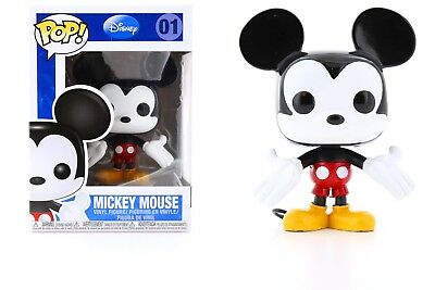 Funko Disney POP 3.75-Inch Mickey Mouse Vinyl Figure