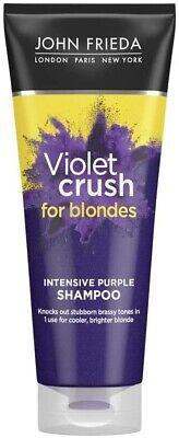 Brassy Blonde Hair Shampoo JOHN FRIEDA VIOLET CRUSH INTENSIVE PURPLE SHAMP 250ml