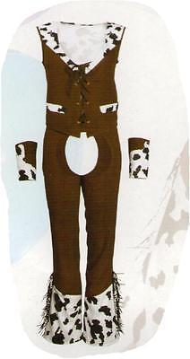Cowgirl Westerngirl Wilder Westen Kostüm Gr. S Fasching Karneval Halloween -