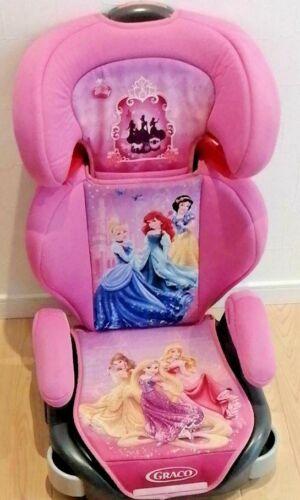 Junior Seat GRACO Maxi Plus Shiny Princess PK Long Use Disney Ariel Cinderella