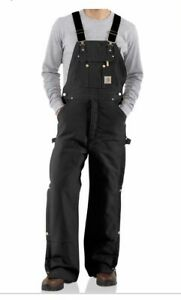 Carhartt quilt lined coveralls 34x28