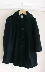 Beautiful Navy Monsoon coat. Age 5-6.