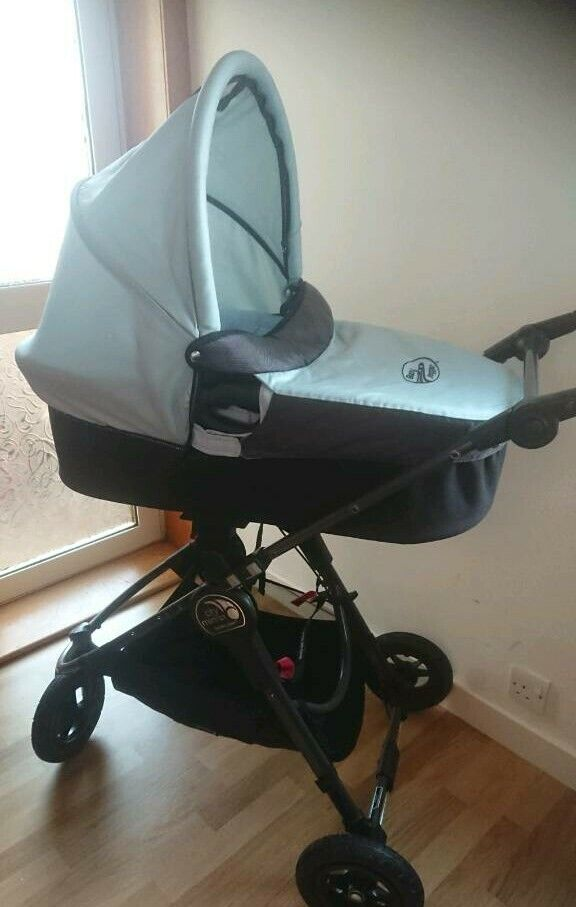 From Birth Ice Blue And Teal Baby Jogger City Mini Gt Teal Footmuff Deluxe Carrycot In Jordanhill Glasgow Gumtree