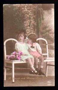 CARTOLINA-AUGURI-A-BRIGHT-AND-HAPPY-NEW-YEAR-VG-1922-DAL-SUDFRICA-ALL-039-ITALIA