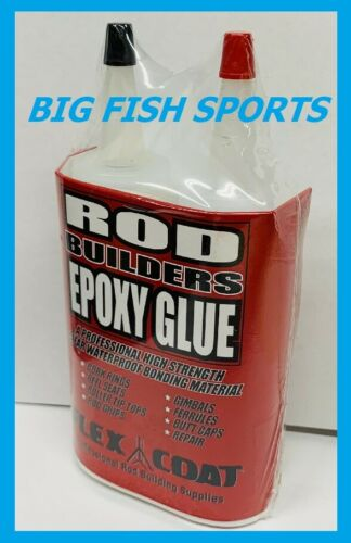 FLEX COAT Rod Builders Epoxy 4 Ounce 2 Part #G4 FREE USA SHIPPING!