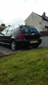 Spares or repair, volkswagen golf, automatic, 1.6,