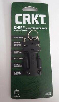 CRKT Knife Maintenance Tool Black GRN Handles w/ Sharpener CR9704