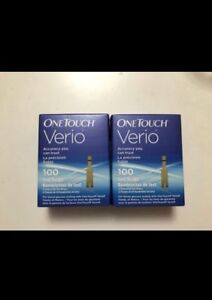 Brand New One touch Verio Strips