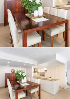 High Quality Timber Dining Table And Chairs