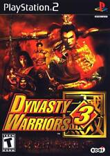 NEW SEALED Dynasty Warriors 3 PS2 Video Game combat weapons martial-arts battle