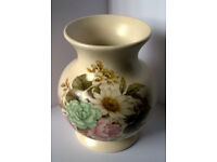 purbeck poole pottery vase