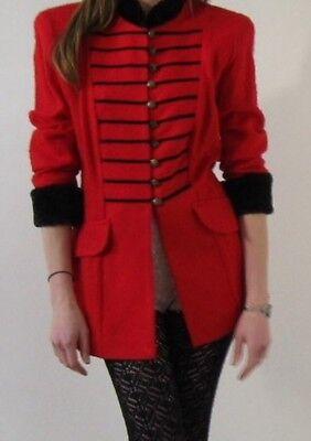 Joseph Ribcoff Vintage Band Uniform Style Jacket