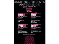 Annie Mac Presents AMP sounds 23rd February 2018 at KOKO london