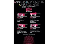 Reduced Price Annie Mac Presents AMP Sounds 23rd Feb 2018 at KOKO London