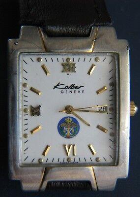 $199.99 - Kalber Geneve K8848 Gift Jordan Police Security Military Luxury Swiss Men Watch