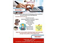 Girl Friday NI - Can we help with your Book-Keeping & Credit Control?
