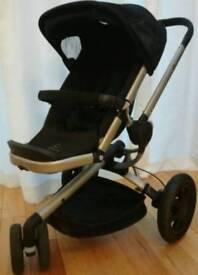Quinny buzz Xtra with maxi cosi cabrofix seat seat