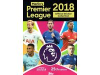 SWAPS - Topps Merlin Premier League 2018 Official Stickers