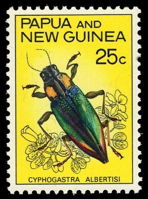 "PAPUA NEW GUINEA 240 (SG112) - ""Cyphogastra albertisi"" Beetle (pa6042)"