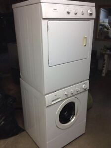 Kenmore stackable washer and dryer combo