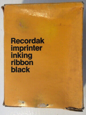 Kodak Recordak Imprinter Inking Ribbon Black