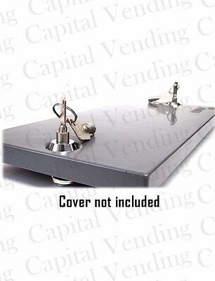 Vendstar 3000 Top Product Lid Rekey Lock Kit With 2 Two Uniquely Keyed Keys