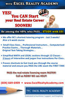 **********   THINKING of a CAREER in REAL ESTATE?   **********