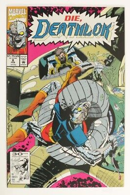 ESZ6919. DEATHLOK #8 Marvel Comics 9.4 NM (1992) High Grade Modern Book '